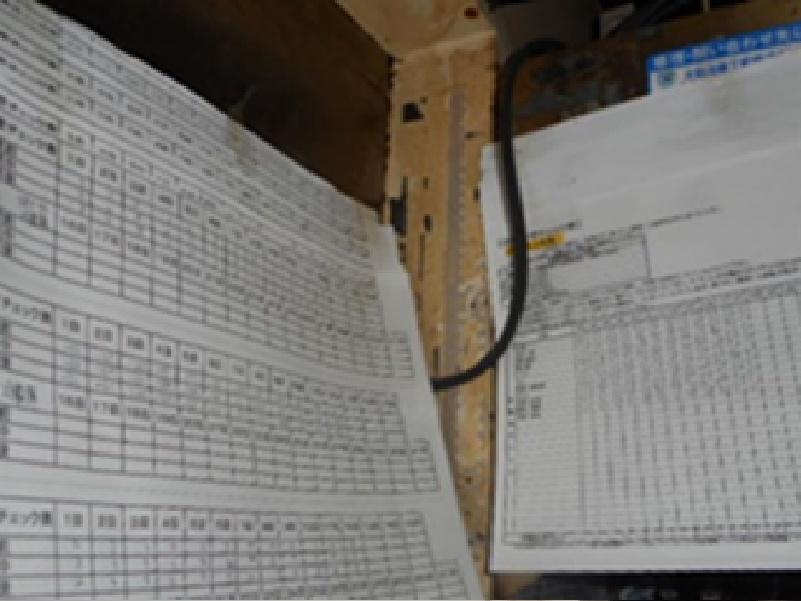 ヒアリングにて健康管理表や温度管理表が毎日記録されていないことが分かりました。本来は毎日確実に実施しないといけません。HACCPに沿った衛生管理では毎日確実に記録することが求められています。(飲食店もHACCPに沿った衛生管理を行うことが義務づけられました。)